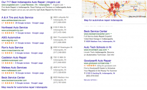 Auto Repair SEO and Map Rankings