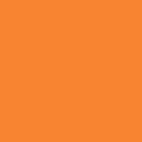Small orange icon of conversation bubbles